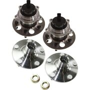 Wheel Hubs Set Of 4 Front And Rear Left-and-right 4350242020, 4350242010 Lh Rh