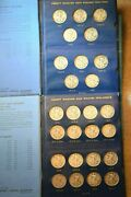 1916-1947 Walking Liberty Half 65 Coin Great Complete Set 110