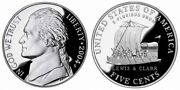 2004 2005 2006 Proof Jefferson Nickels From Us Mint Proof Sets 5 Coins Cp10500