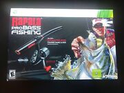 Xbox 360 Video Game - Rapala Pro Bass Fishing Game And Rod Factory Sealed New
