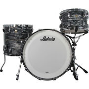 Ludwig Classic Maple Shell Kit In Vintage Black Oyster
