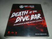 New Board Game Hunt A Killer Mystery Death At The Dive Bar Gnomish Hat 2020 Nib