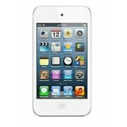 Apple Ipod Touch 4th Generation 8gb White Not Functional Stuck On Logo Screen