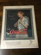 """Very Nice Vintage Ads 1920s-1944 6pieces 1923coke Ad Mint14""""by11"""""""