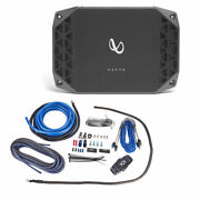 Infinity Kappa Four 1200w 4-channel Amplifier + Free High Quality Nvx Amp Kit