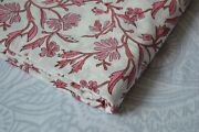 Print_707 Indian Hand Block Dressmaking And Cotton Floral Print Fabric 15 Yard