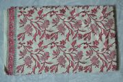 Print_707 Indian Hand Block Dressmaking And Cotton Floral Print Fabric 50 Yard