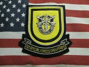 Us Army 1st Special Forces Group Airborne Bullion Blazer Patch