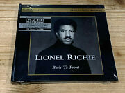 Lionel Ritchie Back To Front Audiophile Motown Japan K2 Hd Cd New Sealed