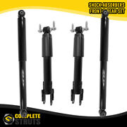 2011-2018 Chevrolet Silverado 2500 Hd Front And Rear Gas Shock Absorbers