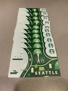 20 Starbucks 2020 Seattle City Gift Card, No Qr Scan Pin Intact, New