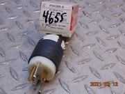 Lot Of 5 Pass And Seymour Ps5366-x Straight Blade Plug 20a 125v