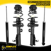 2011-2017 Buick Regal Fwd Front Complete Struts And Rear Gas Shock Absorbers