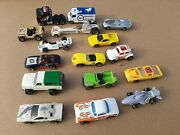 1970's And 80's Hot Wheels, Matchbox And Yatming Cars And Trucks 16 Total