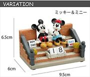 Disney Anime Collection Mickey Mouse And Minnie Duck Desktop Perpetual Calendar