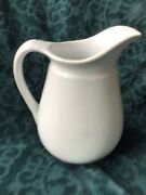 Vintage Royal Stone China Wedgewood Ironstone Pitcher 8 1/2andrdquo Tall