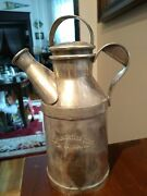 Vintage Homestead Club Hot Springs Virginia Reed And Barton Silver 32oz. Pitcher