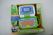 Leapfrog, 2-in-1 Leaptop Touch, Toddler Toy Laptop Learning System, Green