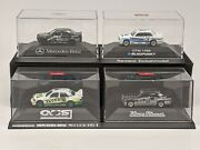 Herpa Ho 187 Lot Of 4 Dtm Cars Mercedes-benz And Bmw