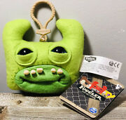 Fuggler Funny Ugly Monster Green Plush Toy/key Chain