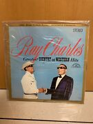 Ray Charles - Greatest Country And Western Hits Lp Sealed Dcc Compact Classic 180g
