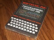 New Timex Ts1000/sinclair Zx81 Computer Software Game Programmers Toolkit 16k
