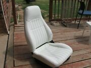 1997 Chevy Camaro Original White Leather Seat, Power Driver Seat, Excellent Co