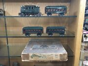 Lionel O Gauge 166 Set With 156 Loco And 610 610 612 Cars And Set Box