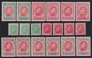 Belgium 1914/15 - Lot Of 19 Red Cross Stamps Mh Hinged - Cat Value 510 €...x2822