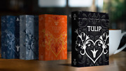 Black Tulip Playing Cards Dutch Card House Company | Uk Seller |