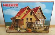 Vollmer 47713 7713 N Timber Frame House With Tonbach Mill Kit Manual New Boxed