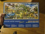 Wildlife Before Mankind Special Gold Series 1000 Puzzle By James Hamilton New
