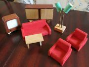 Vintage - 16th Scale - Dol Toi - Living Room Furniture Fab Retro 60s Lamp