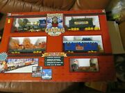 Northpole Christmas Express Animated Train Setbattery Operated Vintage