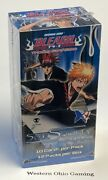 Bleach Soul Society 1st Edition Booster Pack Box New Trading Card Game Ccg Tcg
