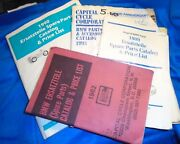 4 Vintage Capitol Bmw Parts Motorcycle Catalogand039s 1990 1989 1982 1993