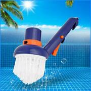 Swimming Pool Step Corner Vacuum Brush Spas Hot Tubs Cleaning Brushes Nylon