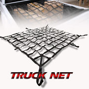 Fit Gmc Cargo Net Rear Trunk Storage Carrier Crew Cab 7.5' Bed Box Pickup