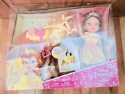 My First Disney Princess Belle And Philippe Doll And Horse U2