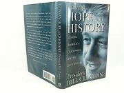 Between Hope And History By Bill Clinton 1996 Gd + Inauguration Cover Set