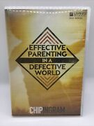 Ingram Chip Dvd-effective Parenting In A Defective World Series Free Ship New