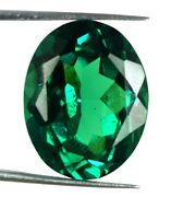 Natural Oval Colombian Emerald Gemstone 30.40 Ct Agi Certified H2053 Best Offer