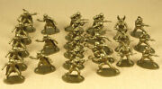 Solpa Space Warriors Vintage Toy Soldiers 132 Made In Greece 25x Figures Lot