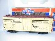 G Scale - Lionel 87110 Pennsylvania Reefer Car Boxed-ln - Knuckle Couplers- Hb1