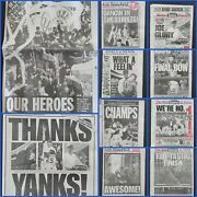 1996 New York Yankees Win World Series Daily News Ny Post Lot Of 4 Newspapers