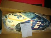 Vintage Miller Lite Rusty Wallace 3d Lighted Wall Sign Nascar 44 X 21 X 7