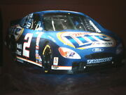 Vintage Miller Lite Rusty Wallace 3d Lighted Wall Sign Nascar 44 X 24 X 8