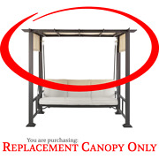 Savannah Pergola Swing Replacement Canopy Replacement Canopy Only