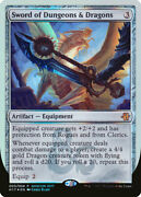1x Mtg Promo - Unique And Misc. Sword Of Dungeons And Dragons - Hascon 2017 Promo M