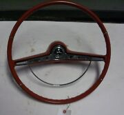 1963 Chevy Impala Steering Wheel With Horn Ring